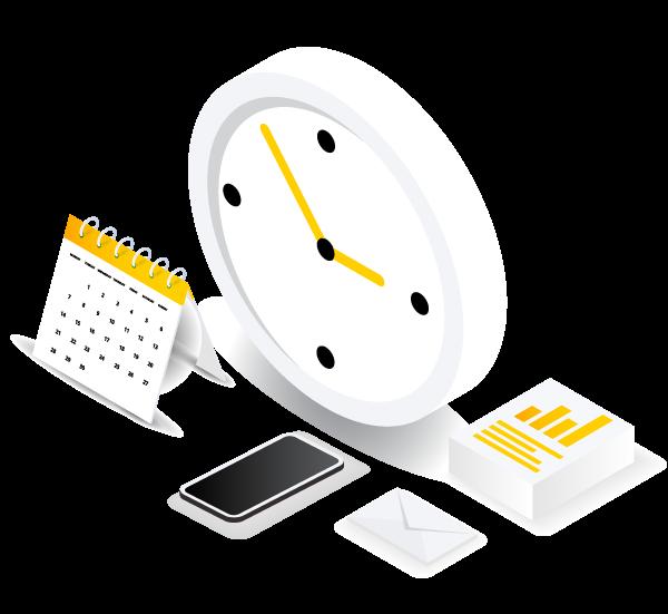 clock-isometric